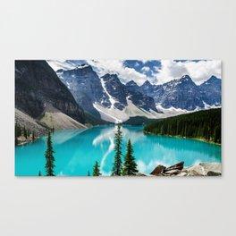 Lake Moraine Banff Canvas Print