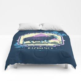 Pastel Baphomet Goat Comforters