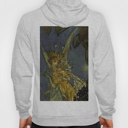 """The Fairy Queen"" Fairy Tale Art by Edmund Dulac Hoody"