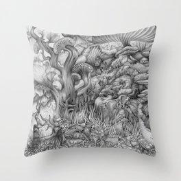 Inevitability Throw Pillow
