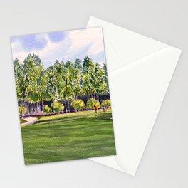 Pinehurst Golf Course No2 Hole 17 Stationery Cards