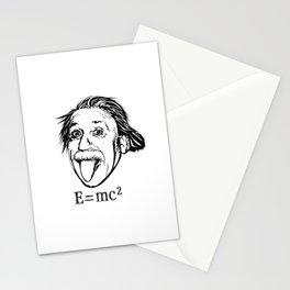 Albert Einstein With E=mc2 Stationery Cards