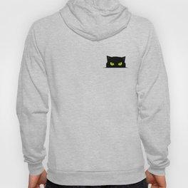 Black cat follow you #society6 #decor #buyart #artprint Hoody