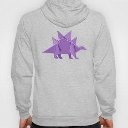Origami Stegosaurus Hoody
