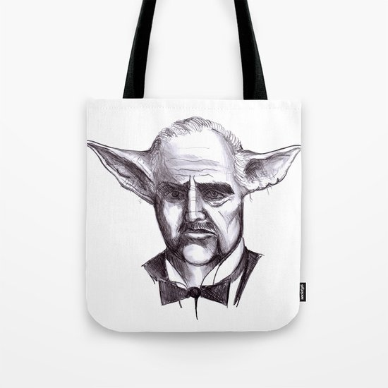 Yodafather Tote Bag