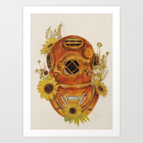 To Sink Art Print
