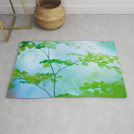 Maidenhair in Sunrise Rug