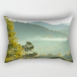 Smoky Mountain Sunrise Rectangular Pillow