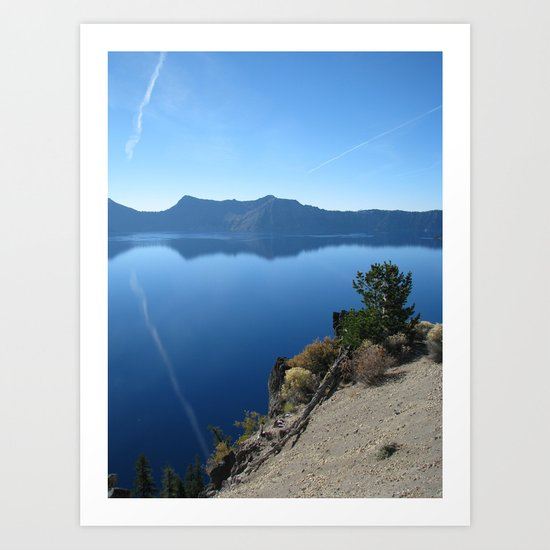 Crater Lake 1 Art Print