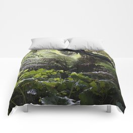 Rainforest in Cornwall Comforters
