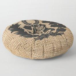 Peru Rustic Shield Floor Pillow