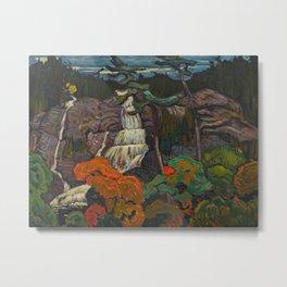 J.E.H. Macdonald Algoma Waterfall, 1920, McMichael Canadian Art Collection Metal Print