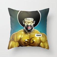Sixman Throw Pillow