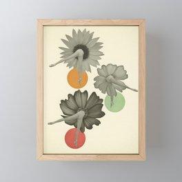 Flower Girls Framed Mini Art Print