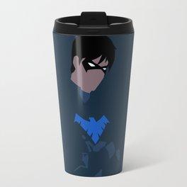 Nightwing Minimalism Travel Mug