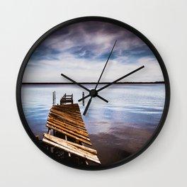 Pier Overlook Wall Clock
