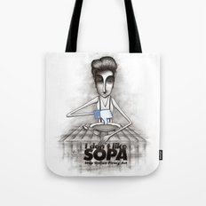 i don't like SOPA Tote Bag