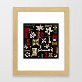 Koro Framed Art Print