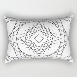 Geometric #11b Rectangular Pillow