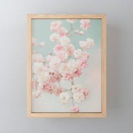 Gypsophila pink blush ll Framed Mini Art Print