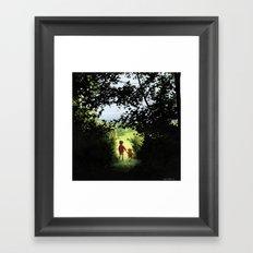 Hundred Acre Wood Framed Art Print