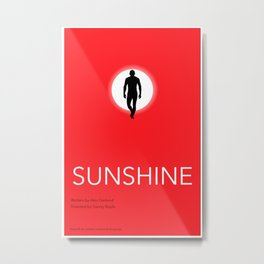 Sunshine Movie Poster (Alternate) Metal Print