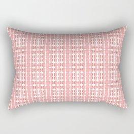 Watercolor Plaid Rectangular Pillow