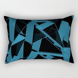 3D Broken Glass III Rectangular Pillow