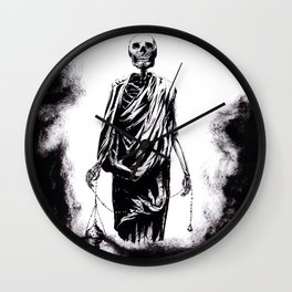 Welcoming Death Wall Clock