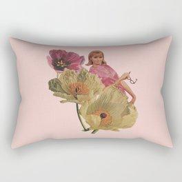 Buy Yourself Flowers Rectangular Pillow