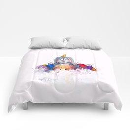 Happy Easter #2 Comforters