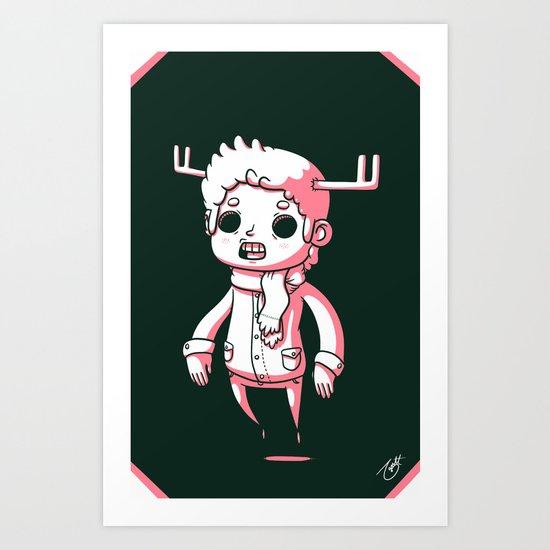 Deer Season Art Print