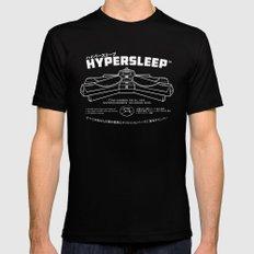 Hypersleep Mens Fitted Tee Black X-LARGE