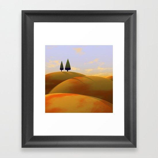 Toscana One (part of diptych) Framed Art Print