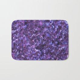 Abalone Shell | Paua Shell | Violet Tint Bath Mat