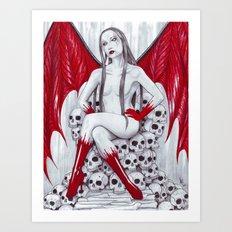 Dark Sawyer Art Print