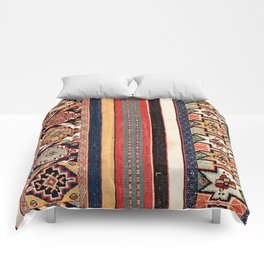 Salé  Antique Morocco North African Flatweave Rug Print Comforters