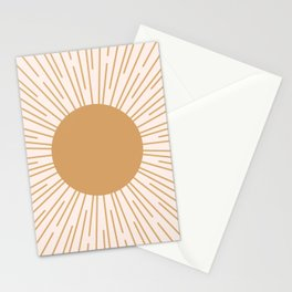 Cheerful Sun Stationery Cards