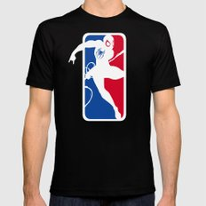 SM Black X-LARGE Mens Fitted Tee