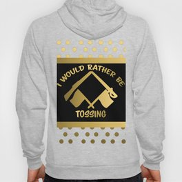 I'd Rather Be Tossing-Color Guard Design Hoody