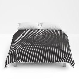 Folded Stripes Comforters