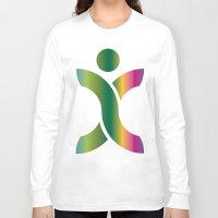 sport Long Sleeve T-shirts featuring Sport Icon by Hasan Türkoğlu