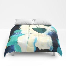 """Deep Sea Forest"" Original Artwork by Flora Bowley Comforters"