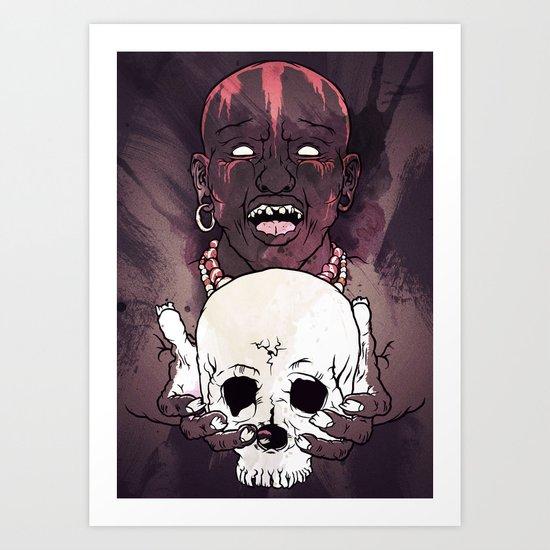 Magic People Voodoo People Art Print