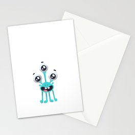 Outter Space Stationery Cards