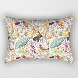 Vegetable Garden Party Rectangular Pillow