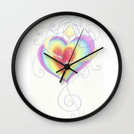 Love is the Music of Life Wall Clock