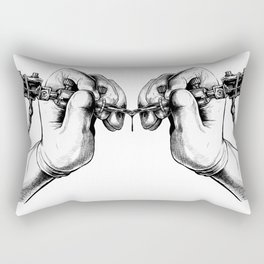 Tattoogun Rectangular Pillow