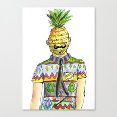 Mr. Pineapple Canvas Print