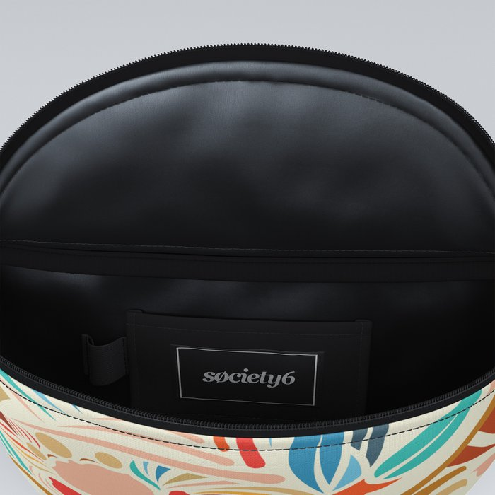 Abstract Florals Fanny Pack
